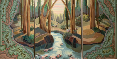 April Dawn Parker, 'I Was a Hidden Treasure (triptych) ', 2019