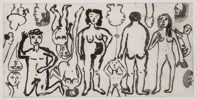 Sara Zielinski, 'Four Figures', 2014
