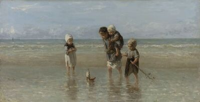 Jozef Israëls, 'Children of the Sea', 1872