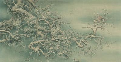 Ren Zhong, 'Snow Covered Pine Tree', 2018