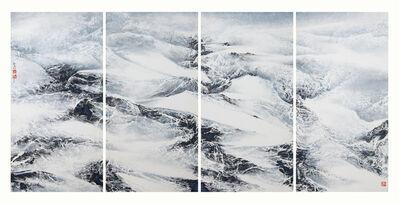 Liu Kuo-sung 刘国松, 'Dance of Wind and Snow', 2014