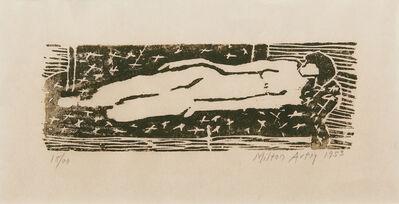 Milton Avery, 'Nude', 1953