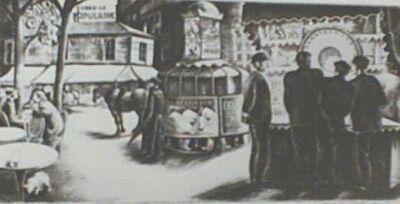 Howard N. Cook, 'Montparnasse Street', 1931