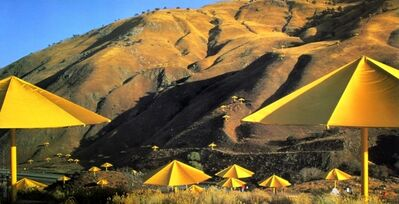 Christo and Jeanne-Claude, 'The Umbrellas, California site', 1991