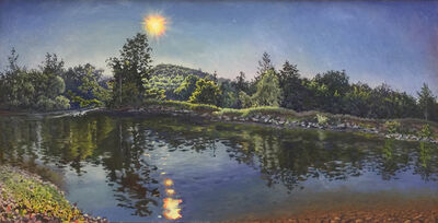 Kim Do, 'Late Afternoon On the Schoharie Creek'