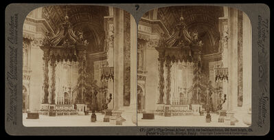 Bert Underwood, 'The great altar with its baldacchino', 1900