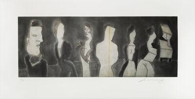 Jose Luis Cuevas, 'Autorretrato con las Berthas', 2000