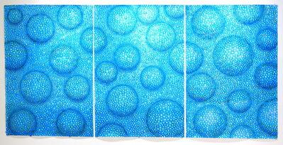 Sky Kim, 'Rain Wall (triptych)', 2020