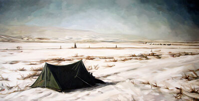 Heather Horton, 'Chris' Tent, Stampede Trail', 2010