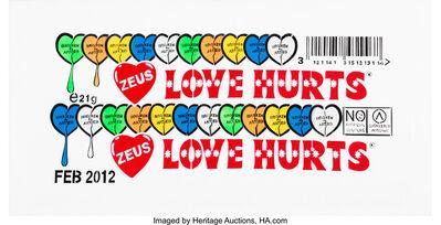 Zeus, 'Love Hurts', 2012