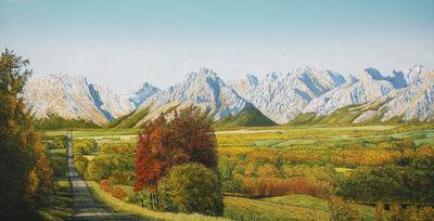 W.H. Webb, 'Autumn Vista by Turner Valley'