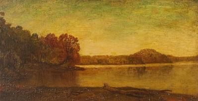 Ralph Albert Blakelock, 'By the Lake '