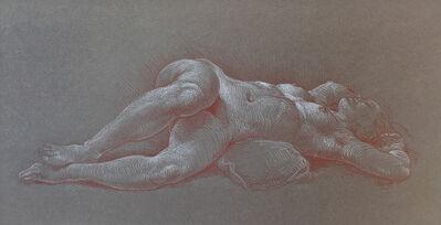 Michael Bergt, 'nude on Gray', ca. 2007