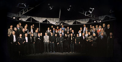 Mira Bernabeu, 'Panorama (New economy) II. Galeristas. Serie Mise en Scène XIII', 2010