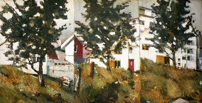 Michael Louis Johnson, 'Backyards Reykjavik', 1982