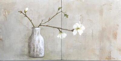 MARTA GÓMEZ DE LA SERNA, 'White flower', 2019