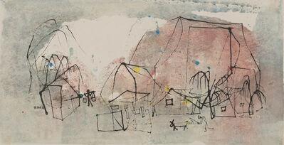 Wucius Wong, 'Village life', 1962