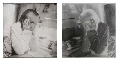 Jean-François Jaussaud, 'Louise Bourgeois, New York, 20th St.  Double Exposure Diptych', France-2006
