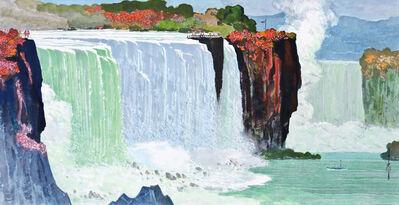 Ma Paisui 馬白水, 'Niagara Falls', 1980