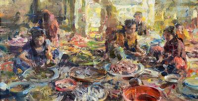 Quang Ho, 'Fish Market Chaos', 2014