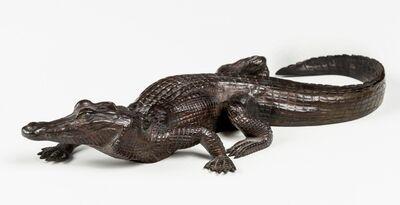 Antoine-Louis Barye, 'Crocodile', 1857