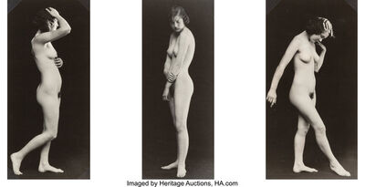 Albert Arthur Allen, 'Untitled (Nude - 3 Views)', circa 1925