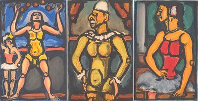 Georges Rouault, 'Le Jongleur, Triste Os, and Douce Amère from Cirque de l'Étoile Filante', 1934