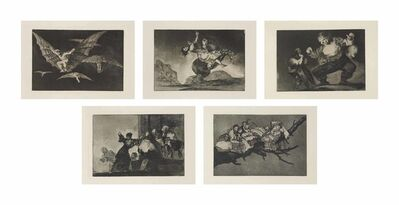Francisco de Goya, 'Los Proverbios', 1816-24