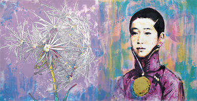 Hung Liu, 'Scattered Seed I', 2015