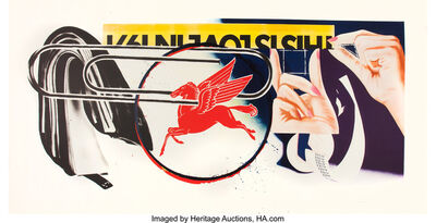 James Rosenquist, 'Paper Clip', 1974