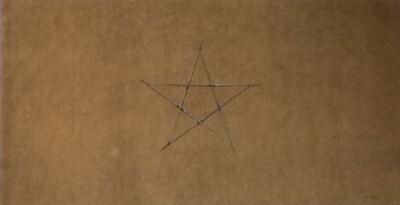 Gilberto Zorio, 'Senza titolo (stella)', 1974
