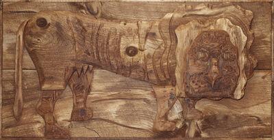 Bernard Langlais, 'Lion', 1977