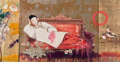 Hung Liu, 'Odalisque', 2014