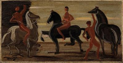 André Derain, 'Cavaliers', 1946-1950