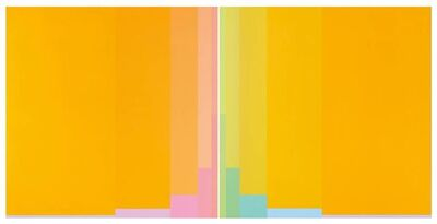 Karl Gerstner, 'Metachromes Diptychon (Chromorphose 1.03/1.04)', 1976
