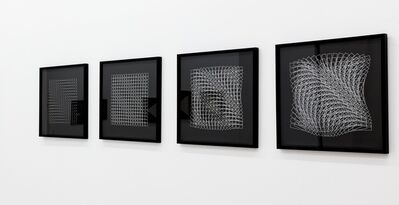 Horst Bartnig, '256 Striche / Quadrate / Lange Rechtecke / Rechtecke', 1982