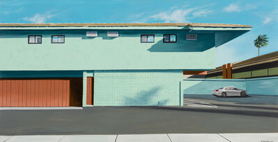 Gabriel Fernandez, 'Behind the Tiki Motel', 2017