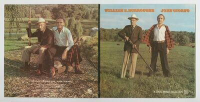 John Giorno, 'William S. Burrough and John Giorno : A d'Arc Press Selection GPS 006-007', 1975