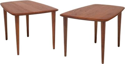 Peter Hvidt, 'Pair of Side Tables', circa 1960