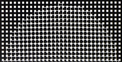 Rogelio Polesello, 'Génesis (sobre versión de dibujo Génesis de 1959)', 2001