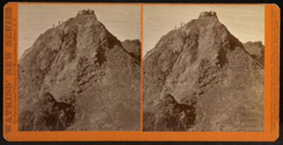 Carleton E. Watkins, 'Round Top, Coast and Geodetic Station, 10,700 ft., Alpine County, California', 1879