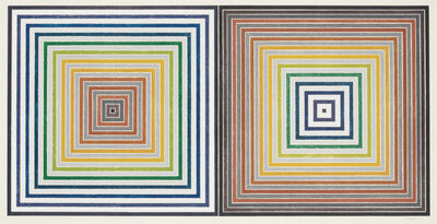 Frank Stella, 'Double Gray Scramble', 1973