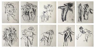 Willem de Kooning, 'Poems by Frank O'Hara', 1988