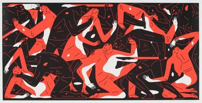 Cleon Peterson, 'Poison in the Mind (Red)', 2019