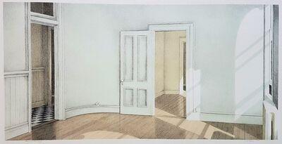 Walter Hatke, 'Rooms on Broadway', 1980
