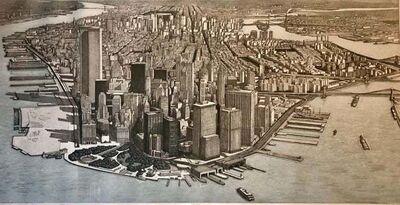 Richard Haas, 'Manhattan View, Battery Park', 1980-1989