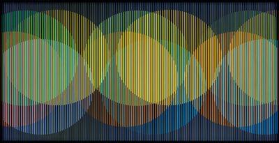 Carlos Cruz-Diez, 'Cromointerferencia Espacial 35', 1964-2015
