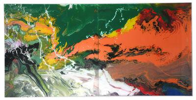 Gerhard Richter, ''Flow (P15)'', 2016