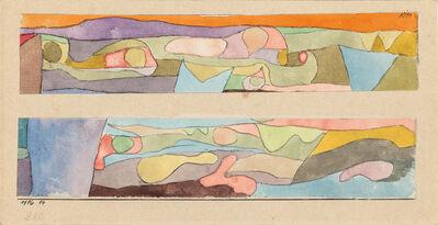 Paul Klee, 'Zwei kleine Aquarelle', 1916