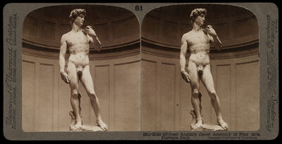 Bert Underwood, 'Michelangelo's David, Academy of Fine Arts, Florence', 1900